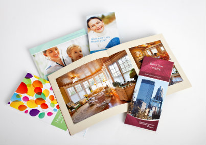 Postcards, Brochures and Flyers