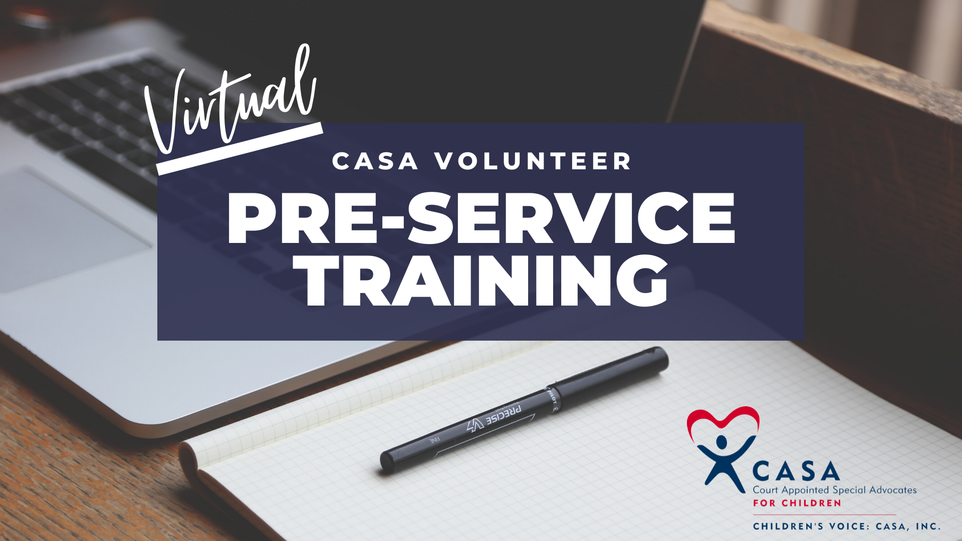 Virtual Spring Pre-service CASA Training (Evening Class)