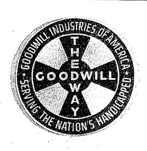 Goowill's original Maltese Cross logo
