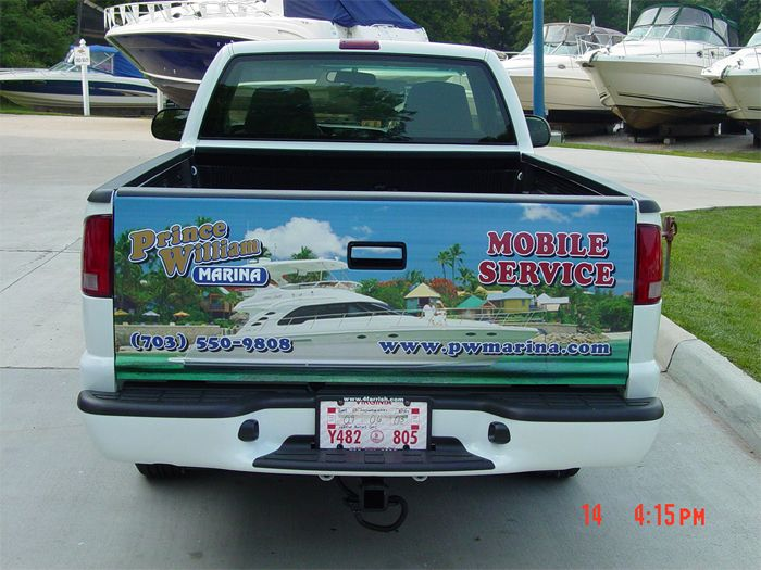 Prince William Marina Truck Graphics