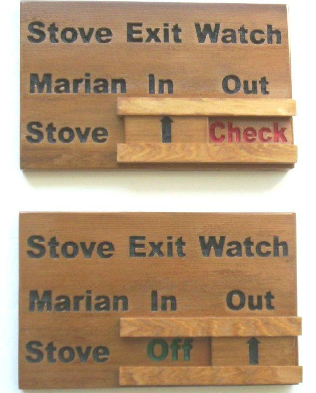 N23110 -Stove Turnoff Reminder