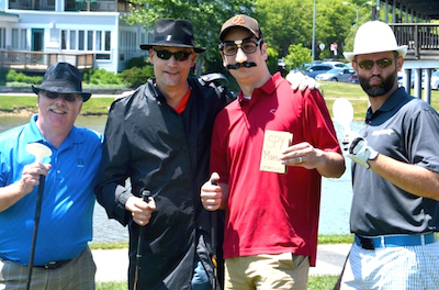 2015 Eagle Alliance Golf - Spy Tee off team