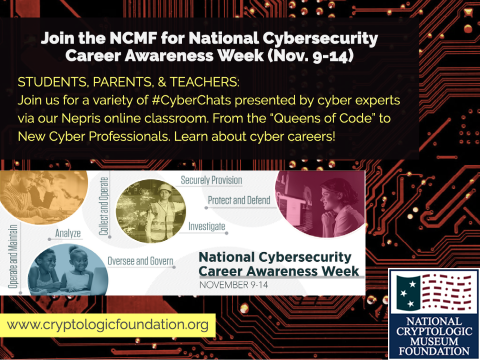 Join us for a #CyberChat & learn about Cybersecurity Careers from the Experts!