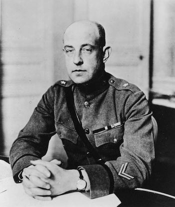 1918: BG Marlborough Churchill became Chief, MID.