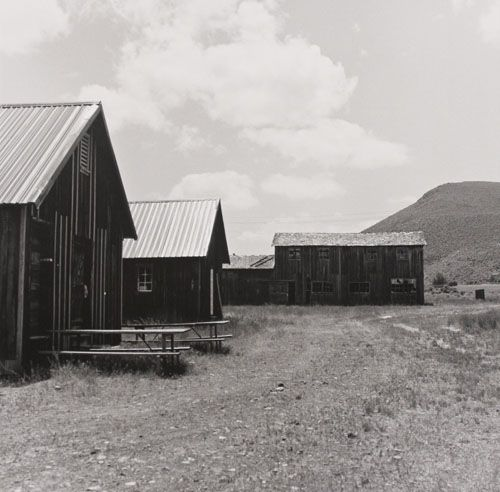 "Camp Tule Lake, Silver Gelatin Photograph, 13"" X 13"