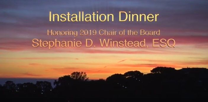 2020 Installation & 2019 Awards Dinner