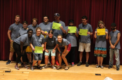 Camper Award Ceremony, Summer 2018
