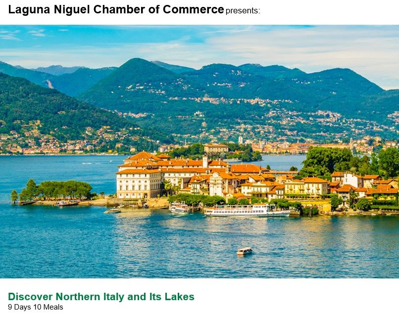 Discover Northern Italy and Its Lakes featuring Padua and Venice  August 12 — August 20, 2020