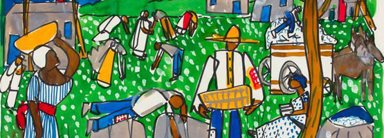 Romare Bearden Li'l Dan, the Drummer Boy: A Civil War Story