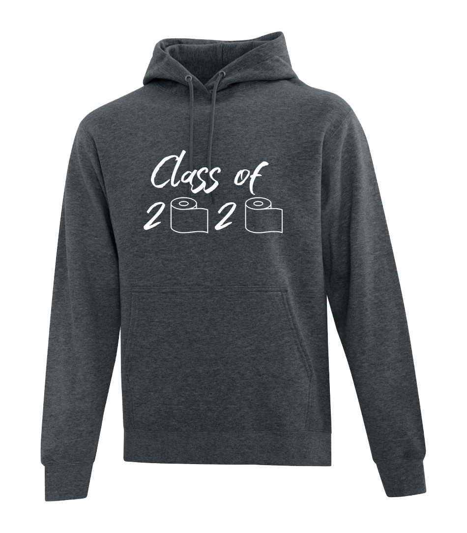 Grad 2020 Hoodie - Class of 2020 (With Toilet paper rolls)