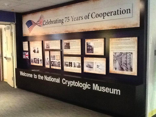 Celebrating 75 Years of Cooperation with UK Exhibit at NCM