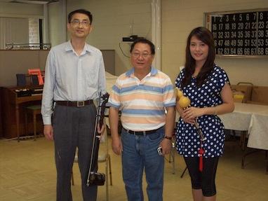 Mahoney Manor Residents Hear Chinese Instruments