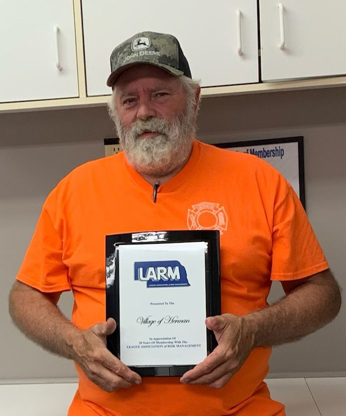 Congratulations to the Village of Herman - 20 year LARM member!
