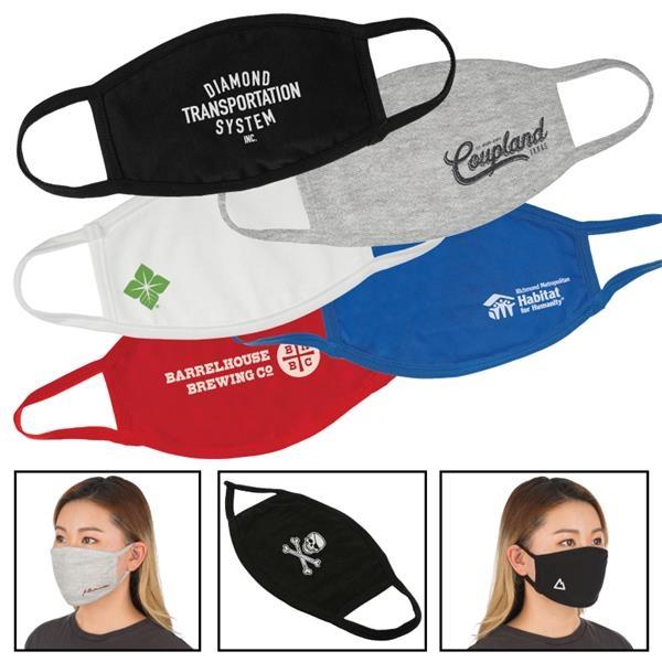 Reusable Face Masks with Imprint
