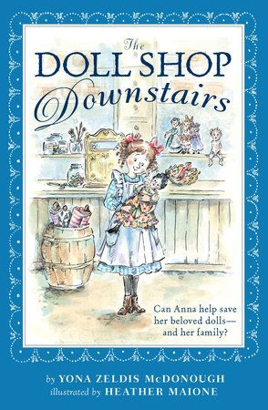 """Book Review of """"The Doll Shop Downstairs"""""""