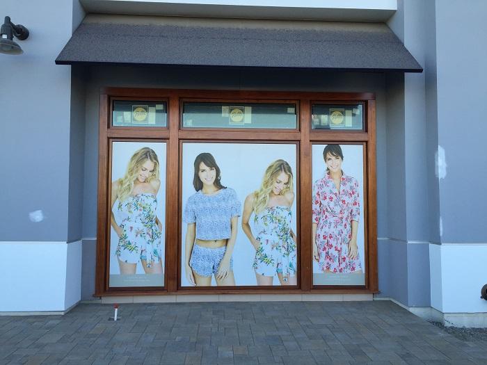 Retail Window Wraps