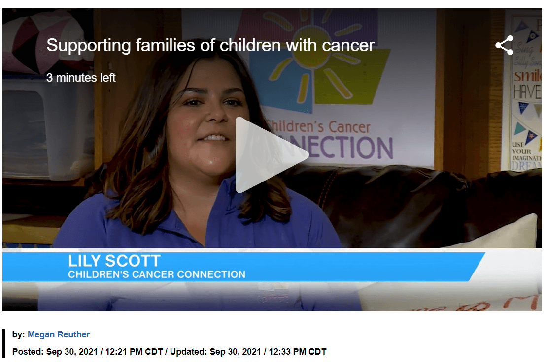 Megan Reuther on Hello Iowa: Supporting families of children with cancer