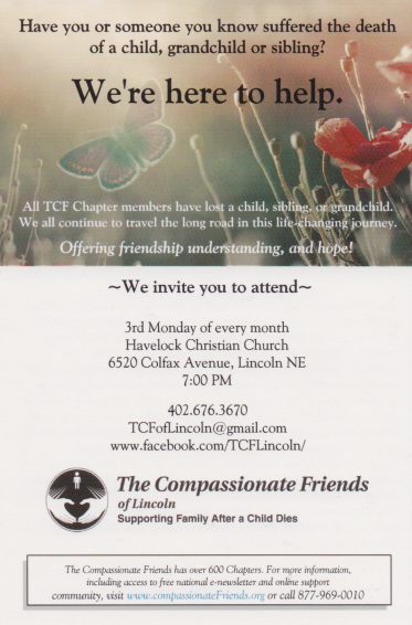 Compassionate Friends Support Group