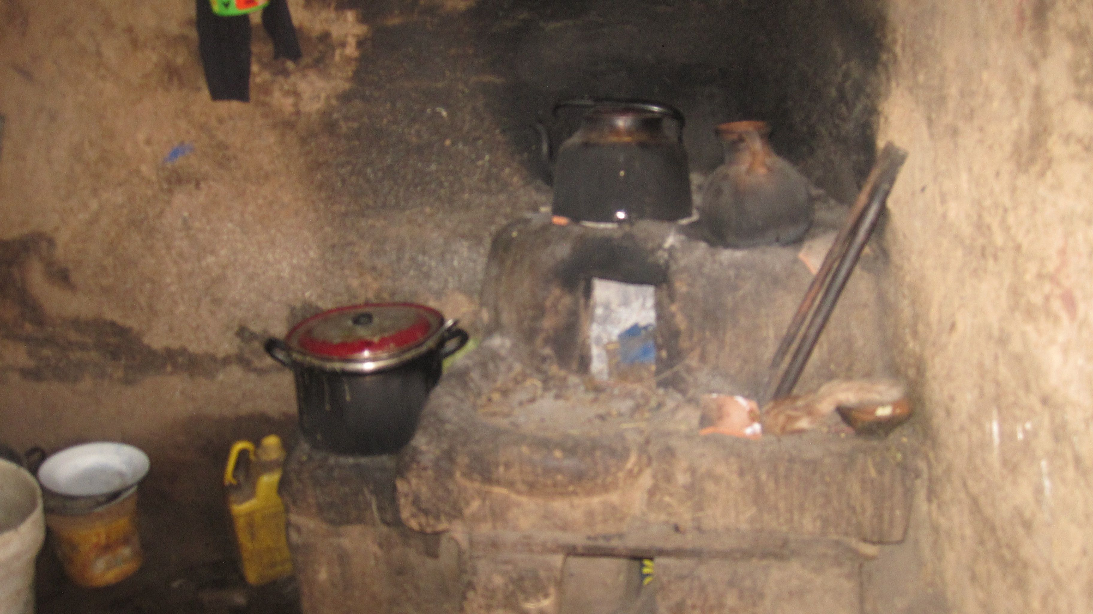 """View of a""""Kitchen"""" of many families in Pomacanchi (Peru)"""