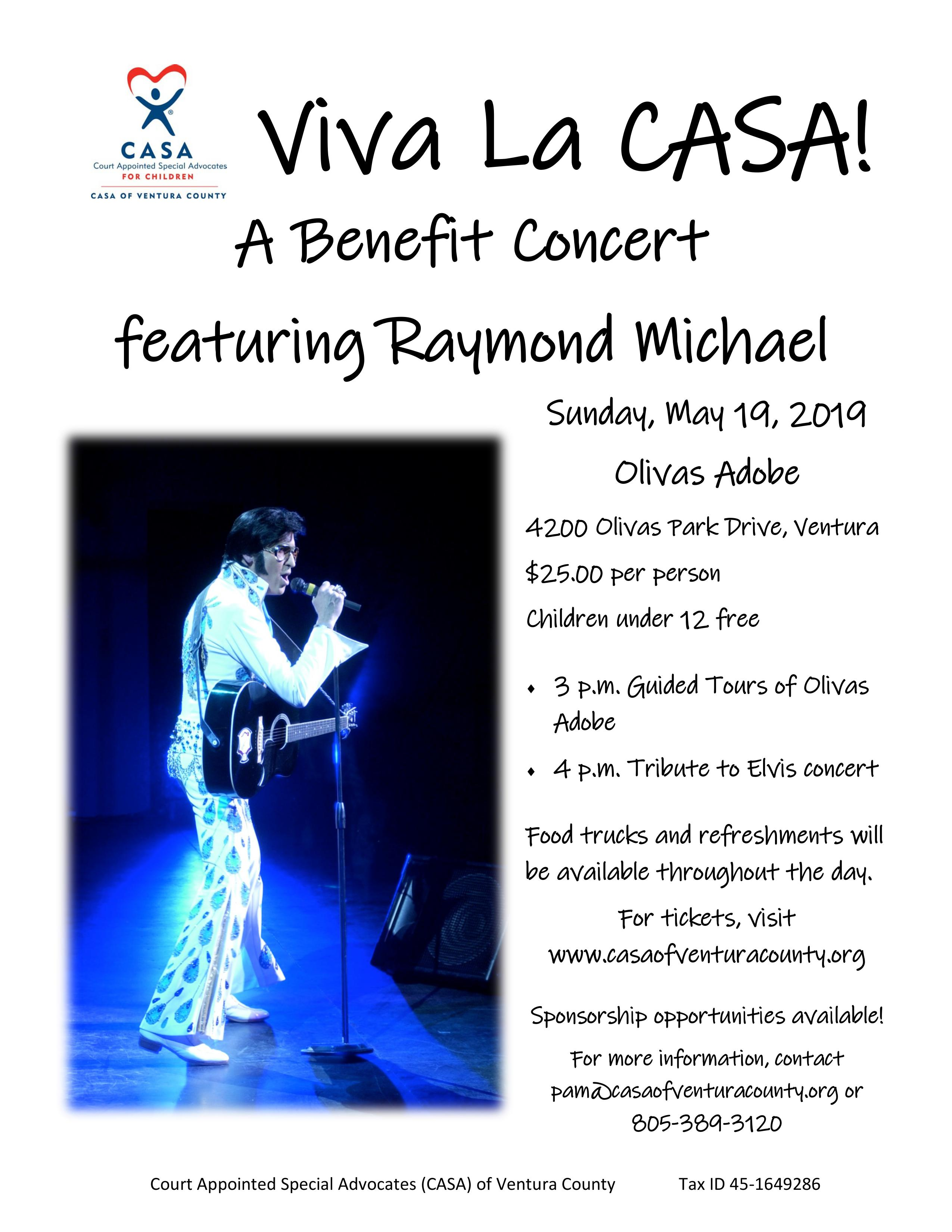 Viva La CASA! A benefit concert!