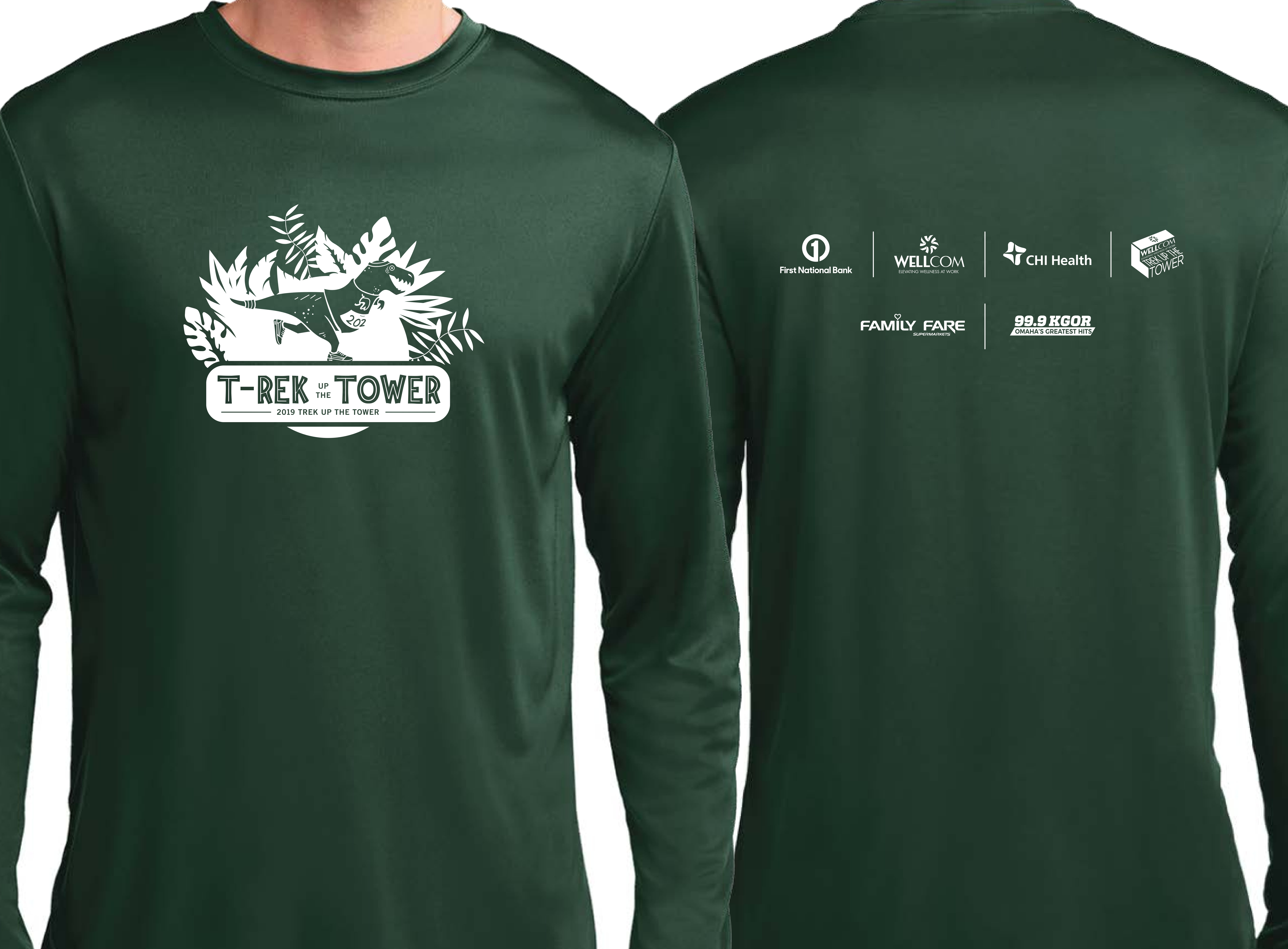 2019 Trek Up the Tower Participant Shirt