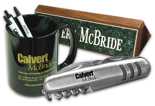 Calvert Mcbride Printing Promotional Items