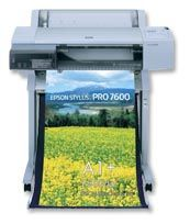 Epson Stylus 7600 Ultrachrome Color Proofer