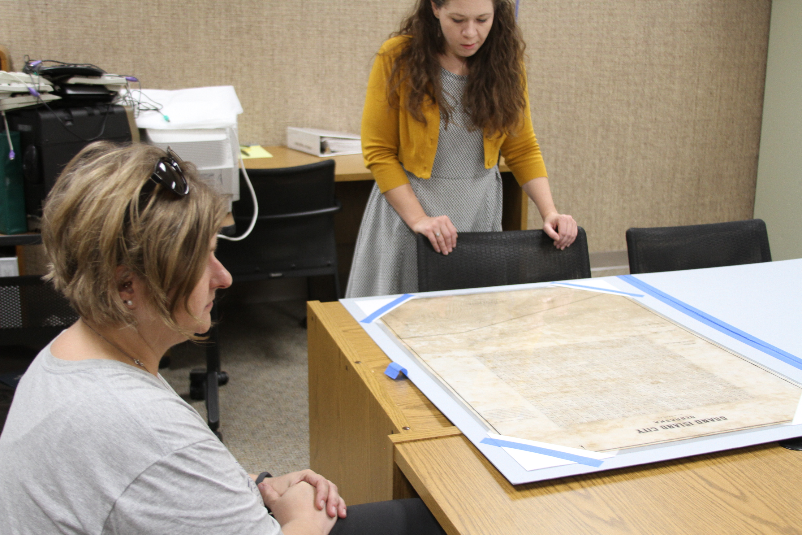 Grand Island Map Returns to Stuhr