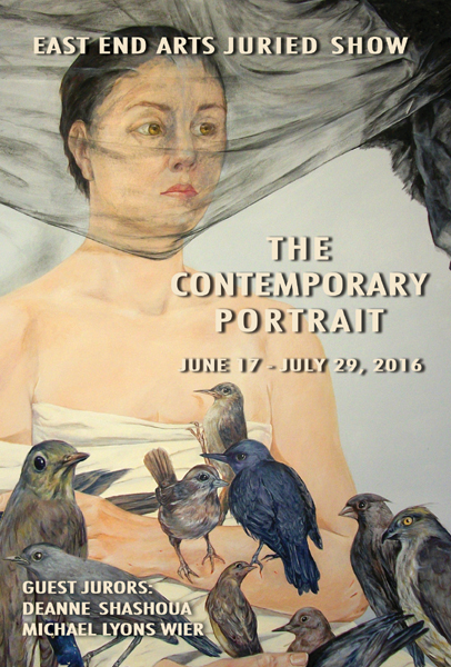 THE CONTEMPORARY PORTRAIT Opening Reception: Friday, June 17, 5-7 PM (posted June 2, 2016)