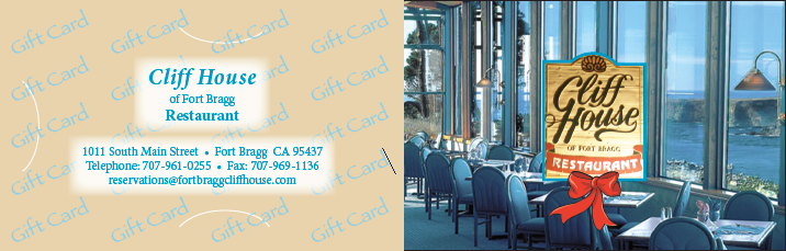 Cliff House Gift Card Carrier 3
