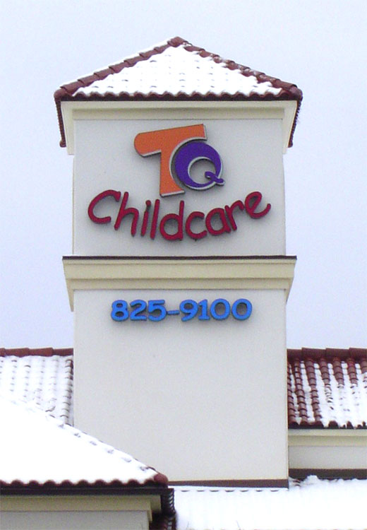 Total Quality Child Care Sign