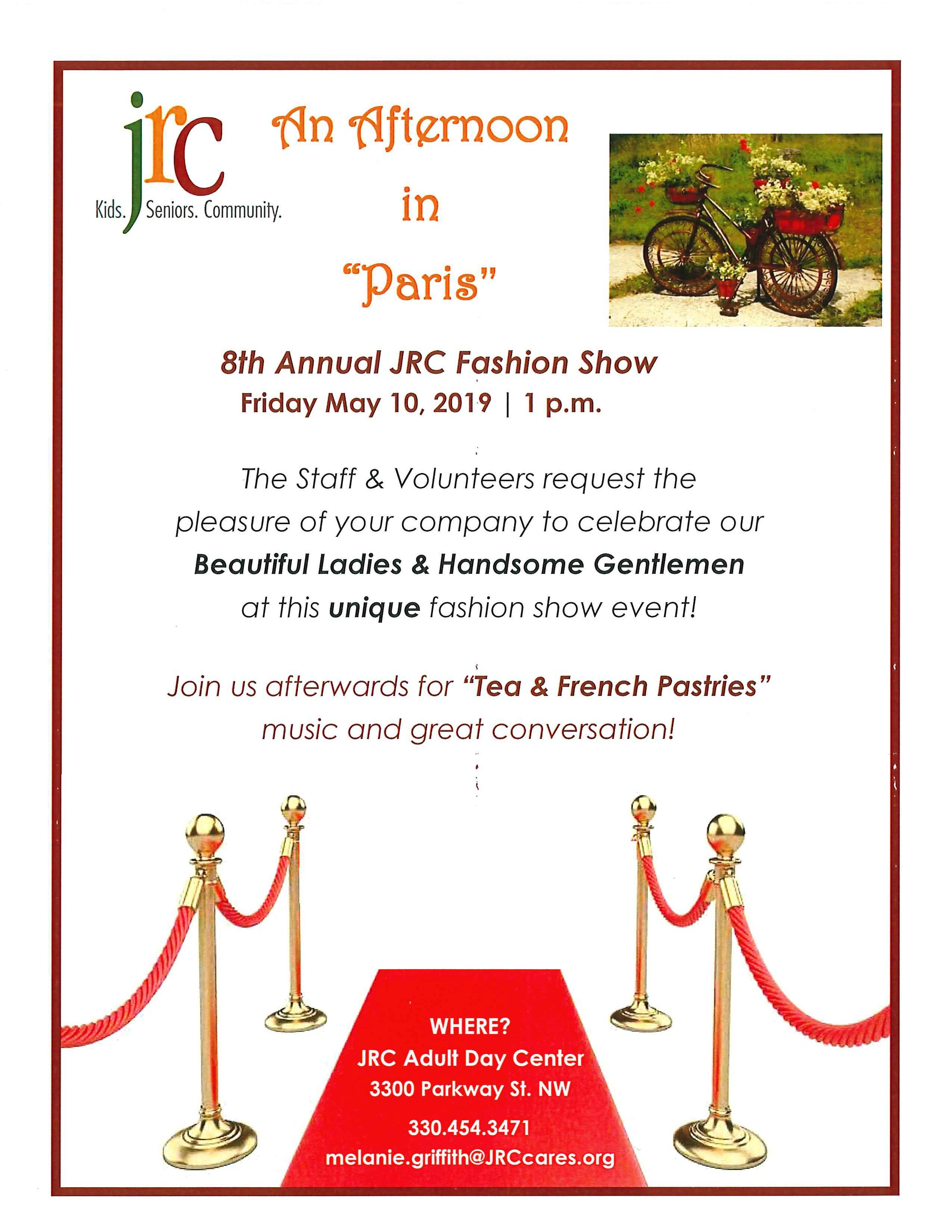 8th Annual JRC Fashion Show