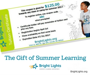 The Gift of Summer Learning
