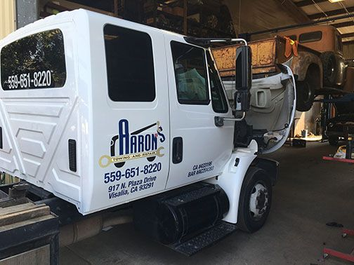 Truck Wrap: Aaron's Towing & Repair