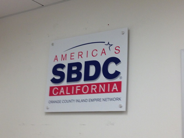 Acrylic lobby signs Orange County