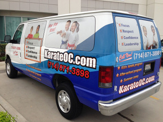 Materials used in vehicle wraps in Orange County