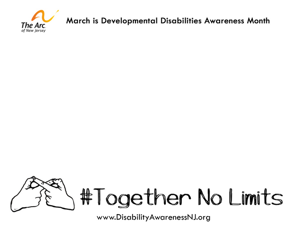 #TogetherNoLimits Sign