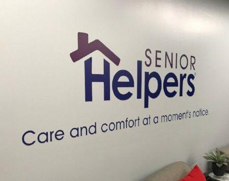 Senior Helpers Wall Vinyl