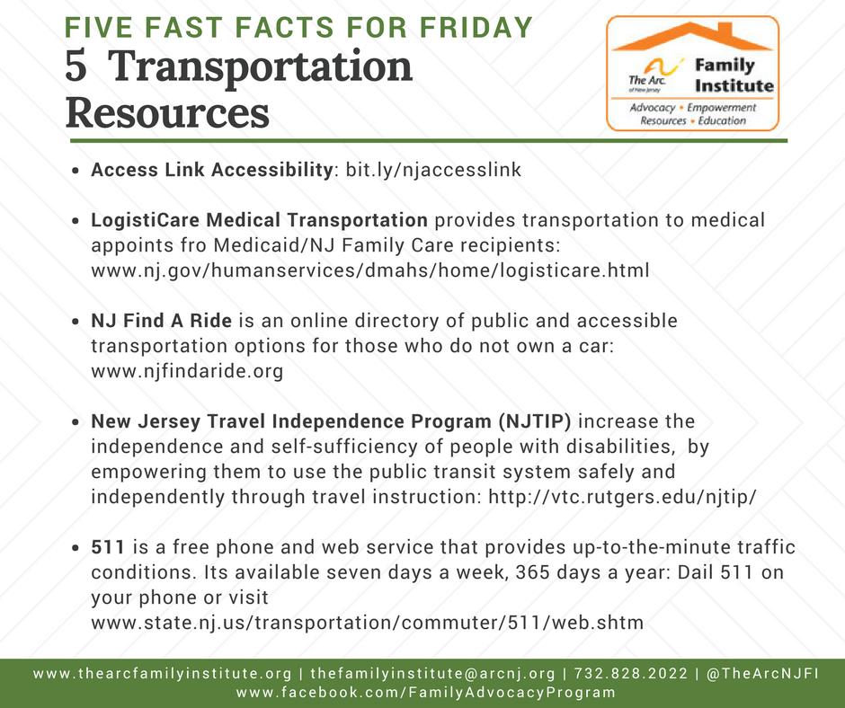 5 Transportation Resources