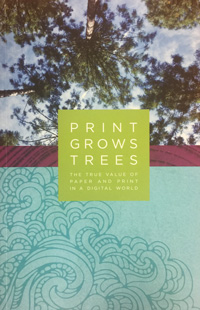 Print Grows Trees book from Miller's Minuteman Press