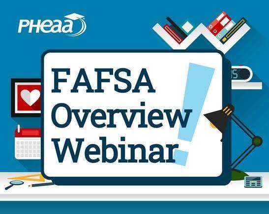 Free FAFSA Overview webinar