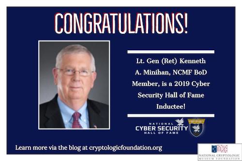Congratulations to NCMF BoD Member Ken Minihan