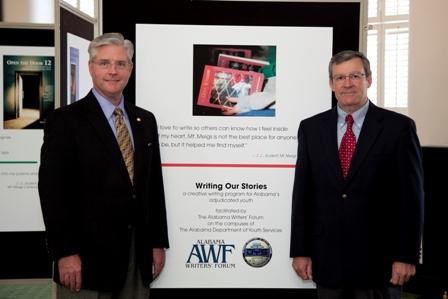 Sen. Greg Reed and J. Walter Wood Jr. (Photo 7093)
