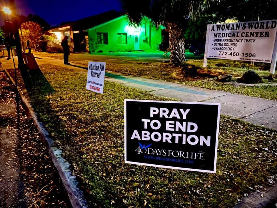 40 Days for Life sidewalk advocates in Port St. Lucie share their stories about pro-life ministry work