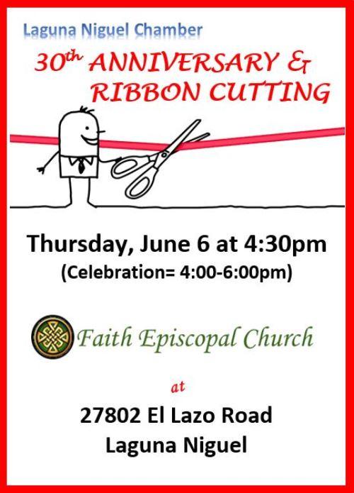 Faith Episcopal 30th Anniversary & Ribbon Cutting