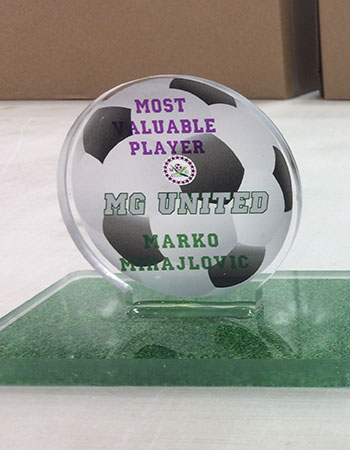 Custom Soccer Trophy