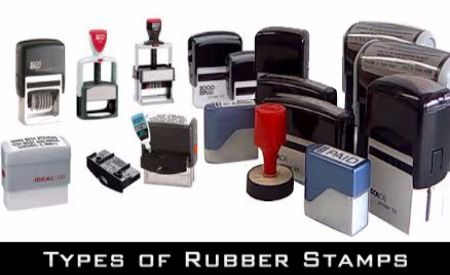 Rubber & Self-Inking Stamps