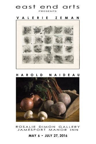 Artists Reception at the Rosalie Dimon Gallery Featuring Artists Valerie Zeman & Harold Naideau (posted May 5, 2016)