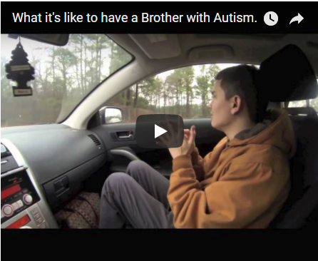 What it's like to have a Brother with Autism