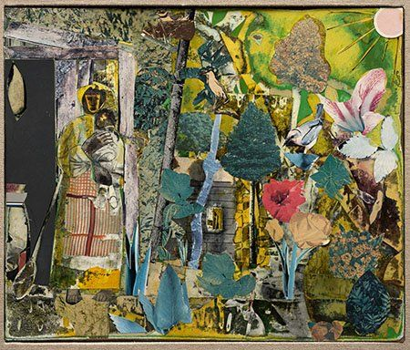 Romare Bearden Magazine Collage